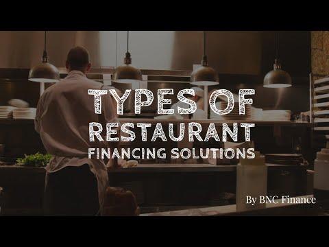 Restaurant Equipment Financing; Equipment Leasing