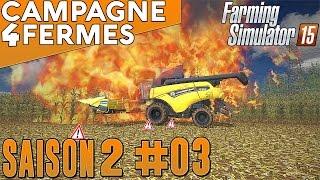 Farming Simulator 2015 - La Campagne Des 4 Fermes - Rôle Play - #3 FR HD