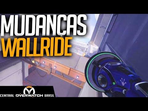 MUDANÇA GIGANTE NO ANDAR NA PAREDE DO LÚCIO! - Central Overwatch Brasil