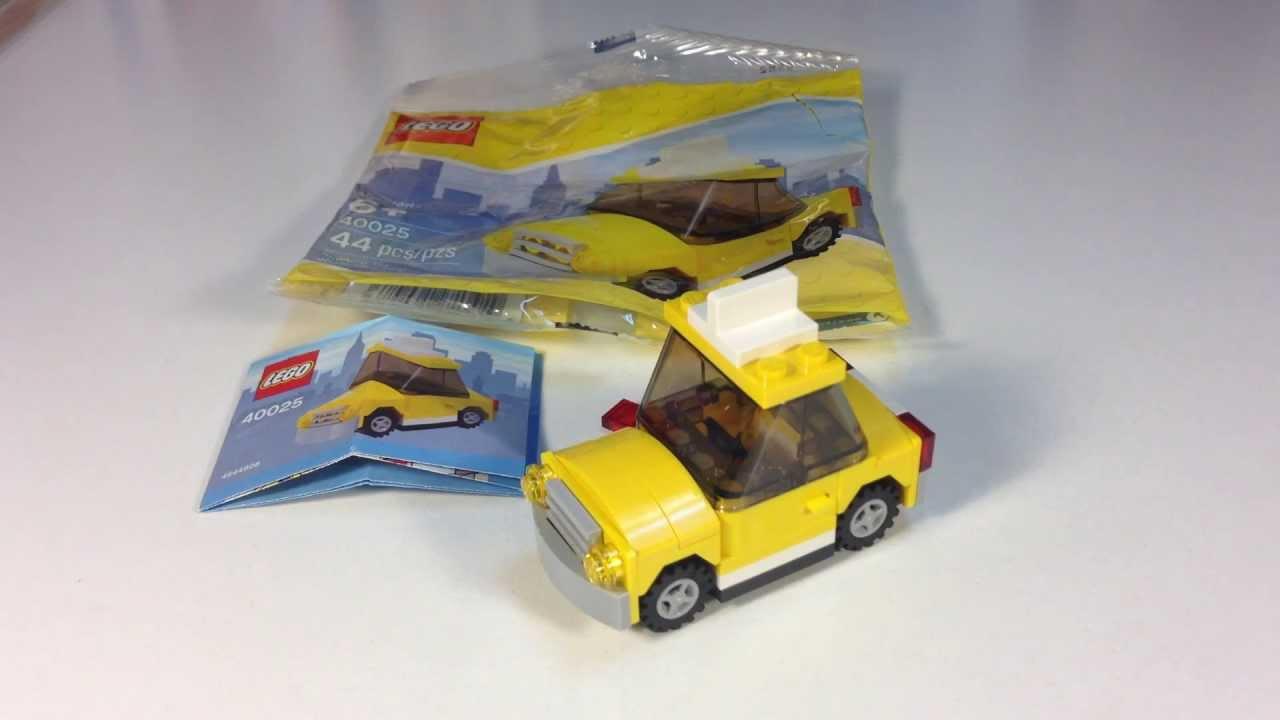 Lego Yellow Race Car