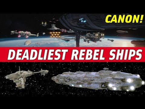 5 Deadliest Rebel Capital Ships | Star Wars CANON