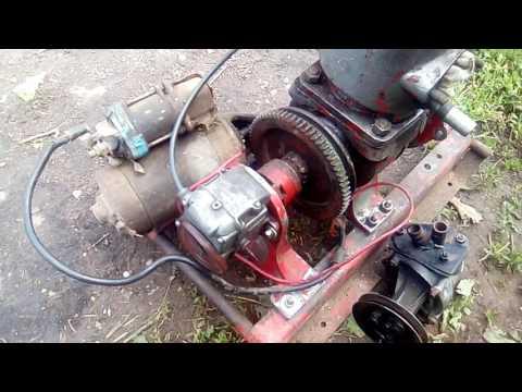 двигатель от мотопомпы обзор