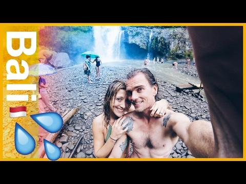 Travel Bali Day 4 - Ubud Day Trips | Tegenungan Waterfall and Tegalalang Rice Terrace fun!