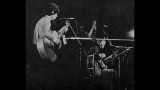昭和52年(1977年)3月渋谷ジァンジァンでのライブ。