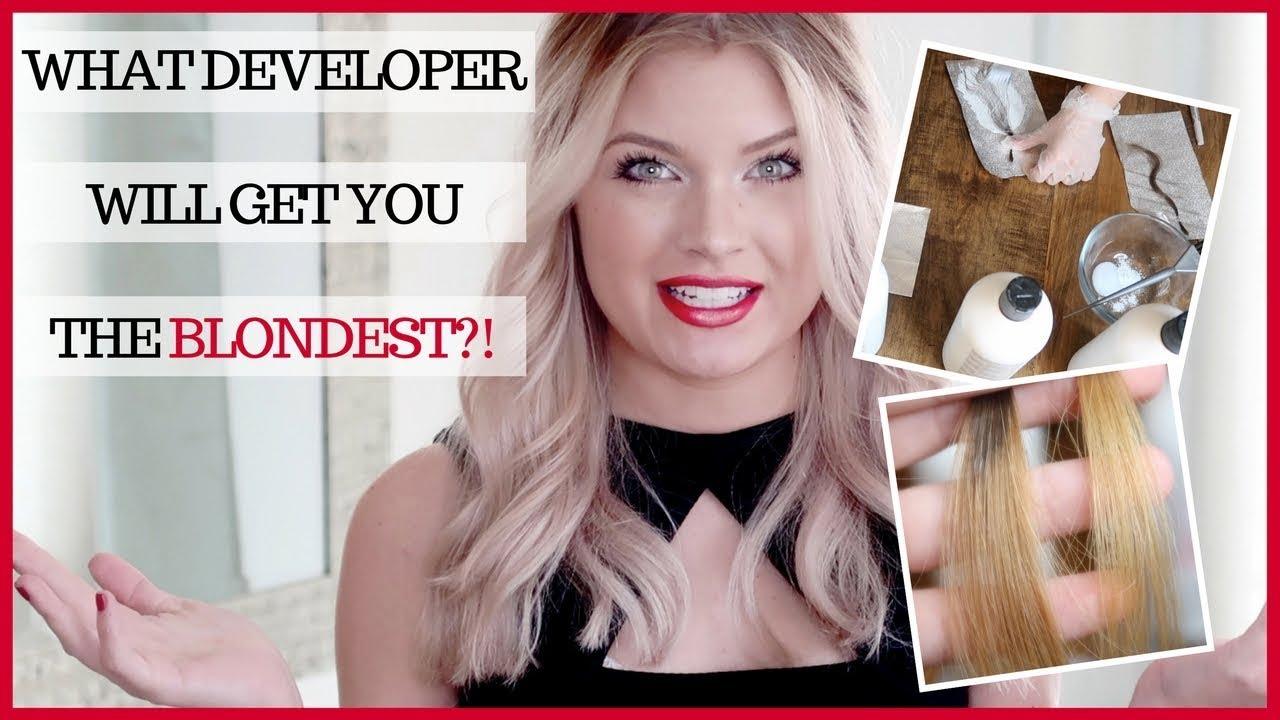 Hair Color Developers Shannon Vanfleet Youtube