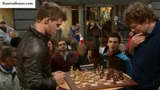 Magnus Carlsen Wins for 19 sec