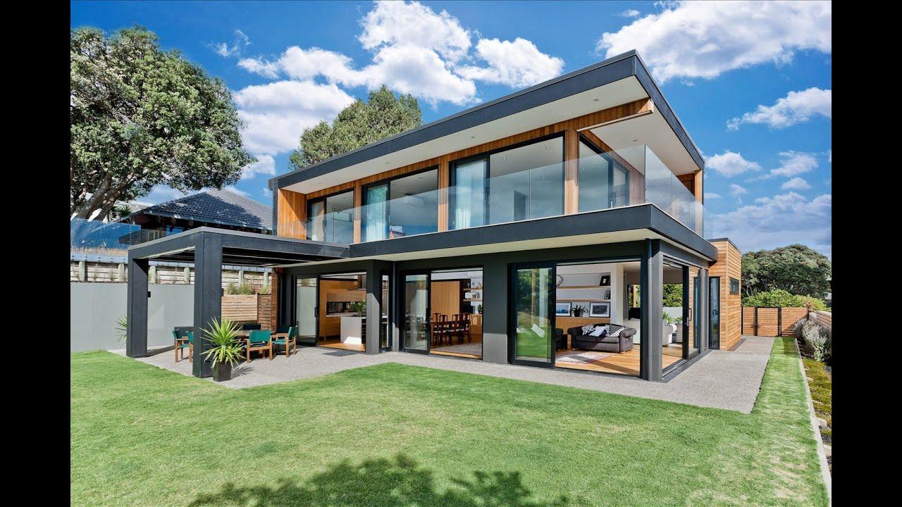 Dise o de modernas casas de dos pisos youtube - Disenos interiores de casas ...