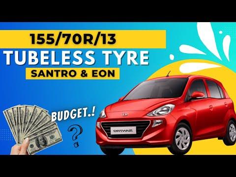 Best tyre for SANTRO XING | EON | SPARK | Ceat,Apollo,Mrf,Bridgestone kaun hai best |155 70 13