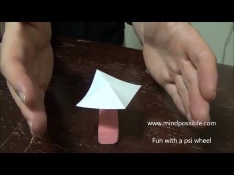 Mind Possible Fun with a psi wheel and telekinesis, chi, qi, energy, consciousness
