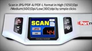 Portronics Scanny 6 portable mini scanner