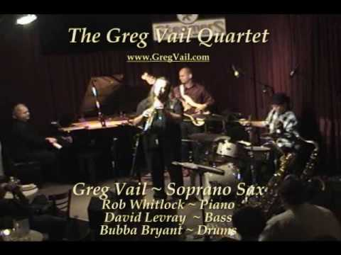 Soprano Saxophone music - Greg Vail Sax - Blue Bossa solo Travel Video