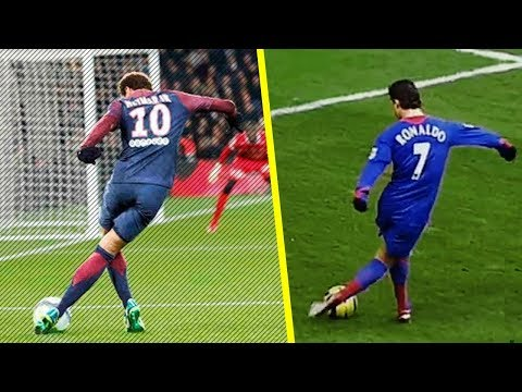 Neymar VS Ronaldo - Top 10 Skills Ever !