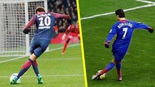 Neymar VS Ronaldo - Top 10 Skills Ever !