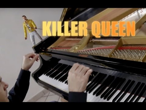 QUEEN - Killer Queen -♫ ♫ ♫  Piano Cover play by Ear by Fabrizio Spaggiari Aka Jazzy Fabbry