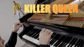QUEEN - Killer Queen -♫ ♫ ♫ HD Piano Cover play by Ear by Fabrizio Spaggiari Aka Jazzy Fabbry