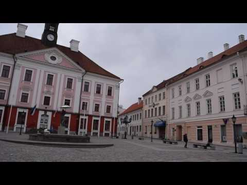 A bike tour around Tartu
