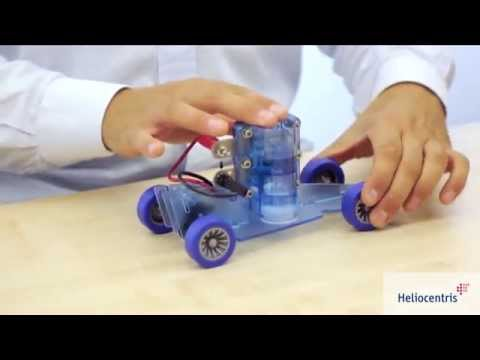 Electric Vehicle Educational Set with Solar and Fuel Cell Technology
