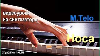 Видеоурок на синтезаторе  Michel Telo НОСА  НОСА