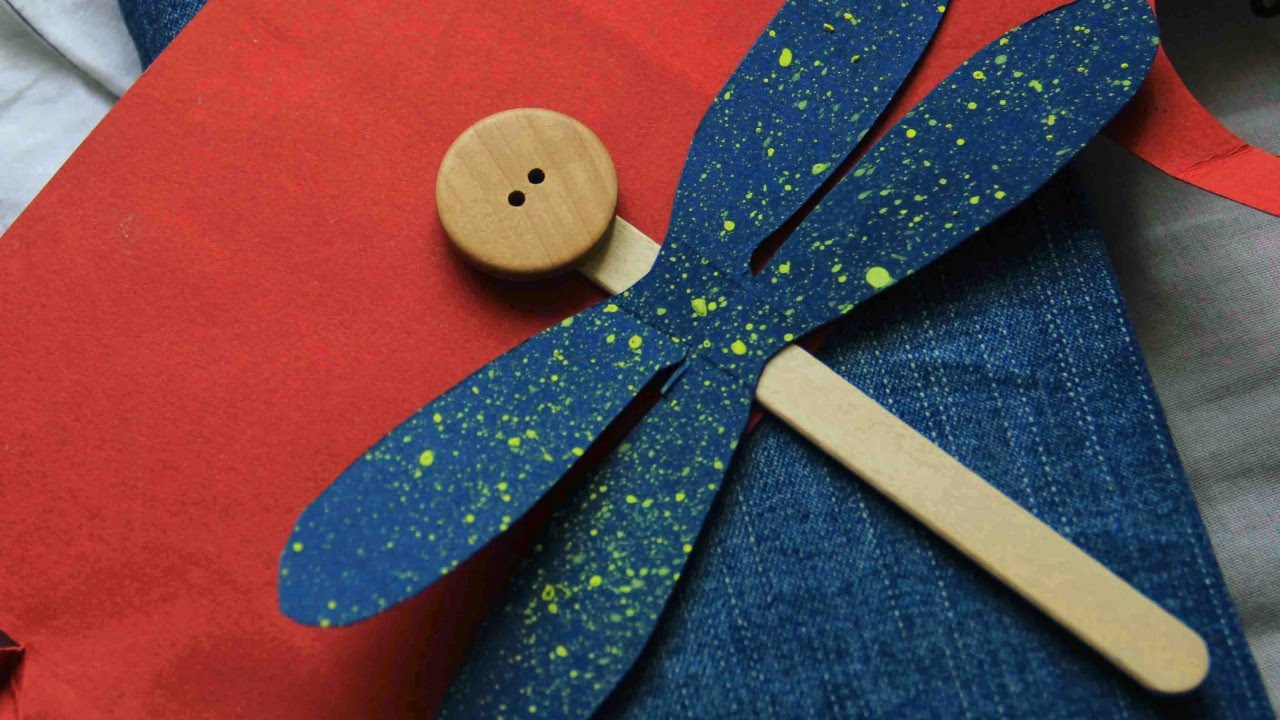 Dragonfly arts and crafts - Make A Cute Popsicle Stick Dragonfly Diy Crafts Guidecentral