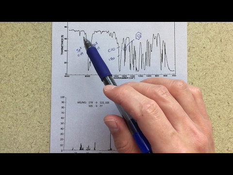 NMR Analysis - Predicting a Structure Based on NMR and IR Spectra