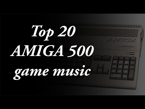 My Top 20 Amiga 500 Game Music
