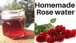 How to make natural Rose water at Home in Hindi | Anti-wrinkle & pimple Rose Toner | AVNI