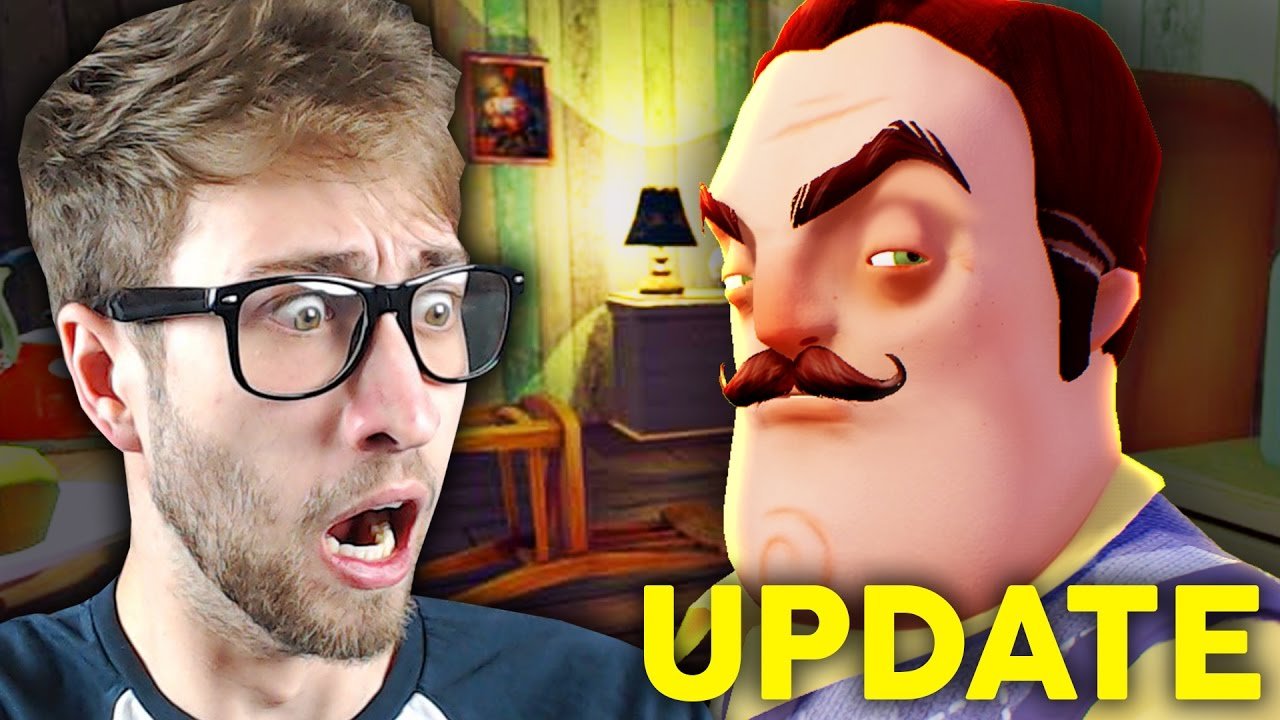 NEW UPDATE WITH NEW SECRETS!! - Hello Neighbor