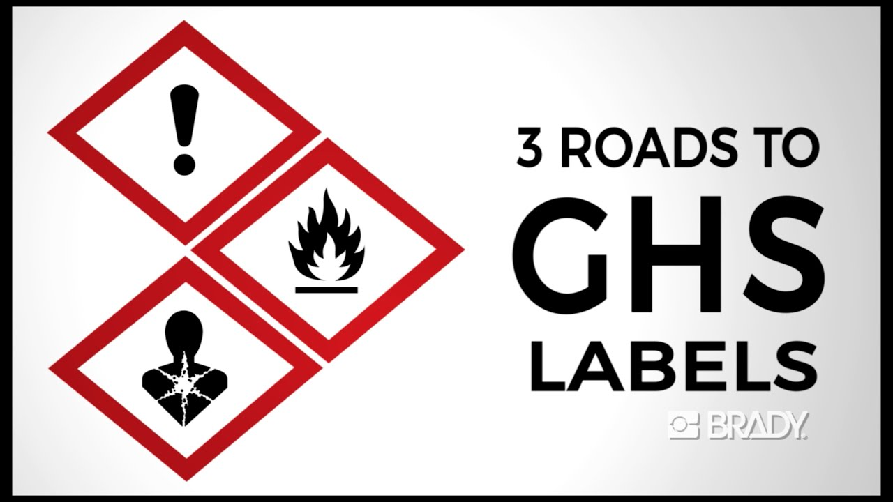 clp chemical brady labels pre ghs store diamond b printed