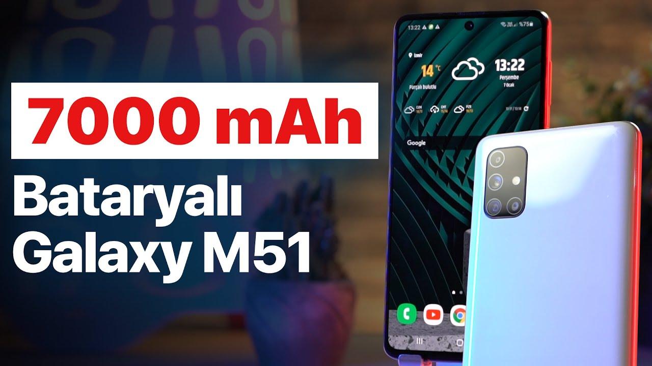 Akü Gibi Telefon: 7000 mAh Bataryası ile Samsung M51 İncelemesi
