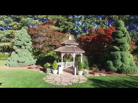 Seattle Greenlake Woodland Park Zoo Rose Gardens  4K  Fall 2017 DJI P3P