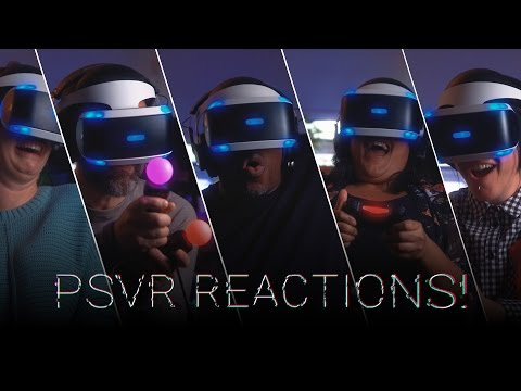 Playstation VR Reactions! // Extended Cut