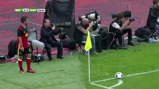 Ciman goal for Belgium vs Norway 3-2