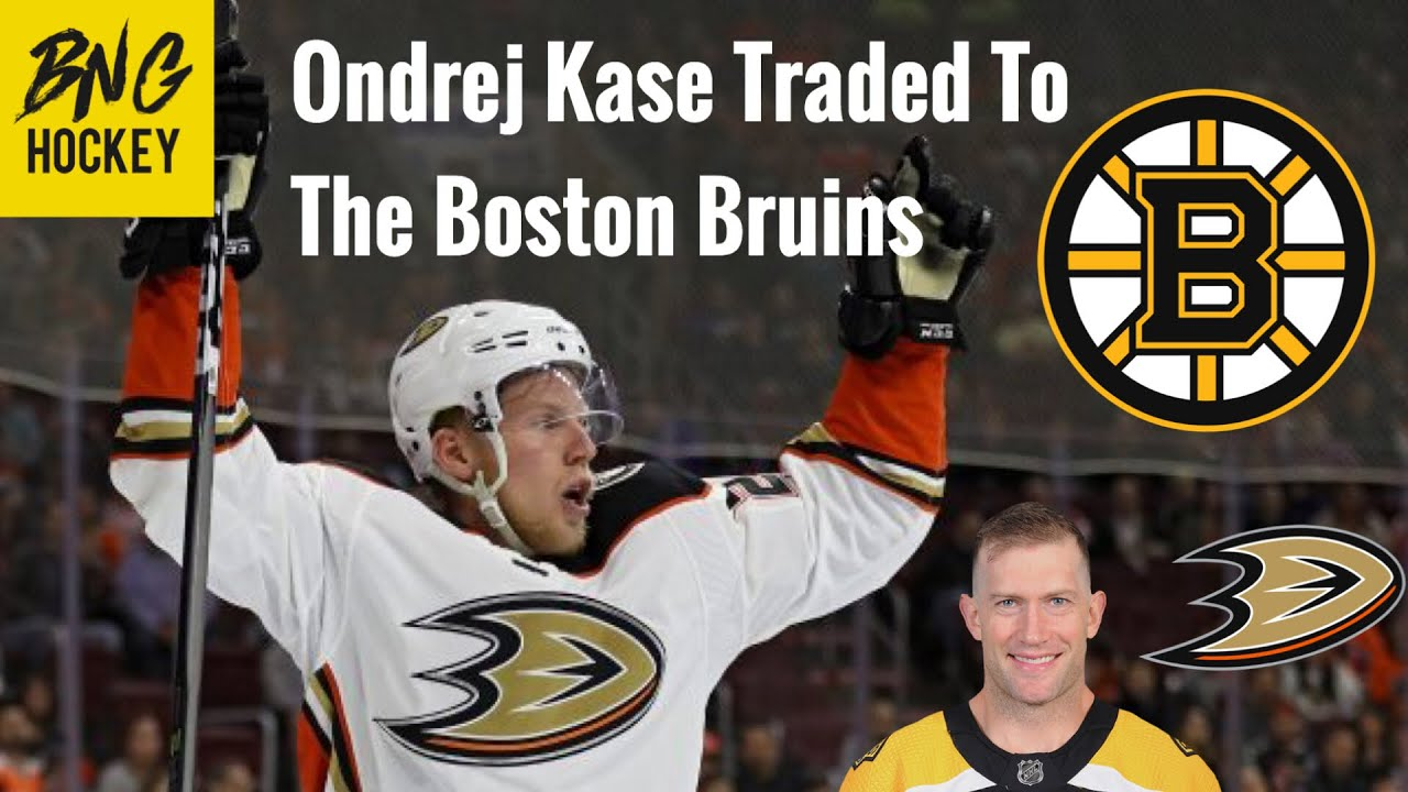Ducks trade Ondrej Kase to Boston for David Backes, a first-round pick