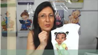 Pintando a Princesa Tiana por Cátia Cristina