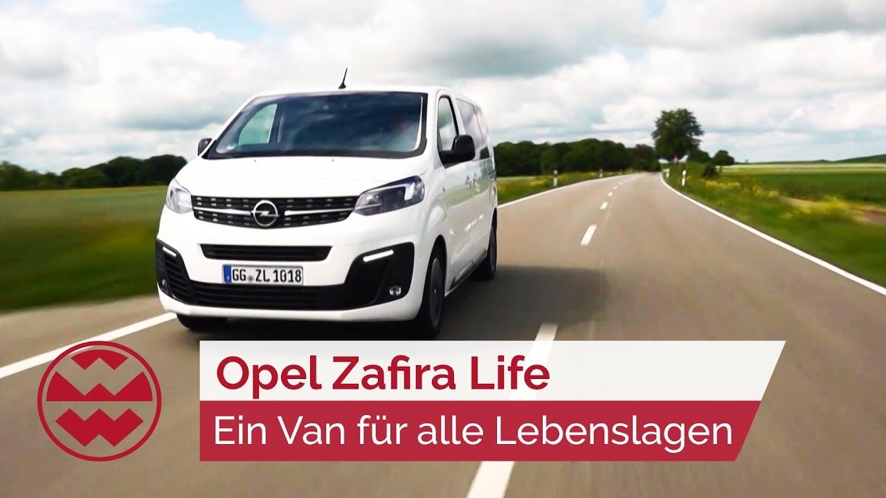 Ein Van Fur Alle Lebenslagen Opel Zafira Life Just Drive Welt Der Wunder Youtube