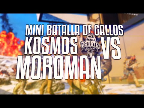 MINI BATALLA DE GALLOS - KOSMOS VS MOROMAN
