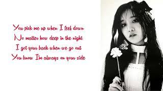 [Karaoke] Duet with Yuqi (우기) - Bonnie & Clyde (Instrumental & Lyrics)