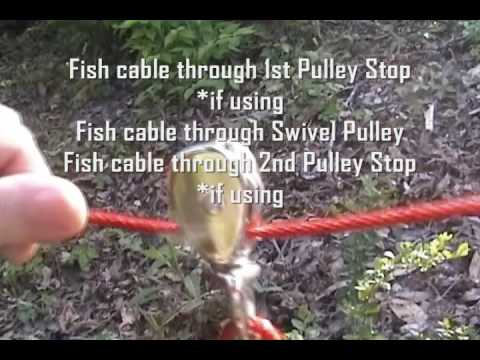Apbr Dog Cable Run Tutorial Youtube