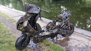 MOPED FOUND !!!!! Magnet Fishing Tales From The River Bank