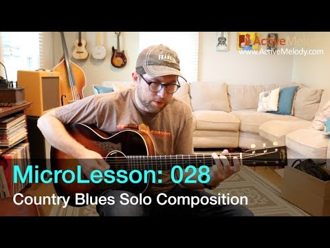 Country Blues Guitar Lesson - ML028