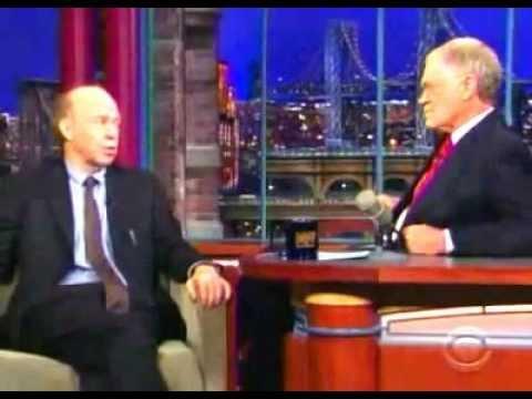 Dr James Hansen on David Letterman