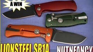 """""""Lionsteel SR1 Alum: Tactical Knife Art"""" By Nutnfancy"""