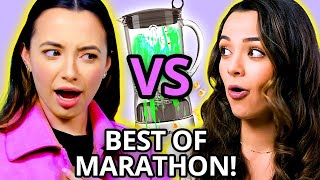 BEST MERRELL TWINS CHALLENGES - Funniest/Craziest Veronica & Vanessa Moments