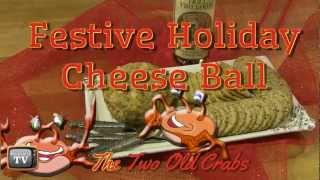 Festive Holiday Cheese Ball