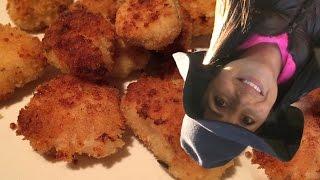 Baked Parmesan Chicken Bites // Tasty Bit 72