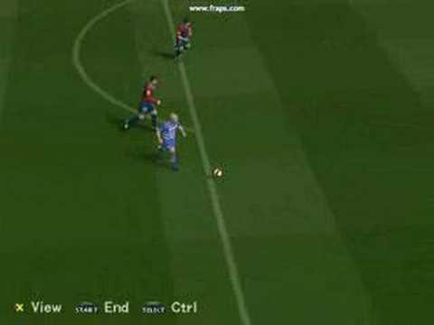 [My PES5 Goal Archive] Doyle Lob vs Barcelona