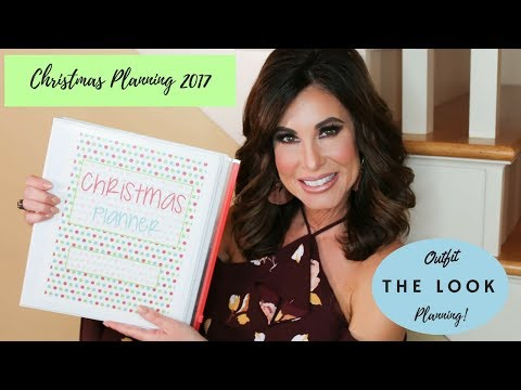 CHRISTMAS Planning 2017  | The LOOK | OUTFIT Planning