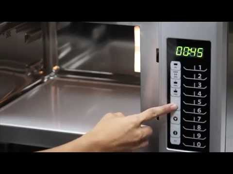 Menumaster Rms Series Of Microwave Ovens Explained Youtube