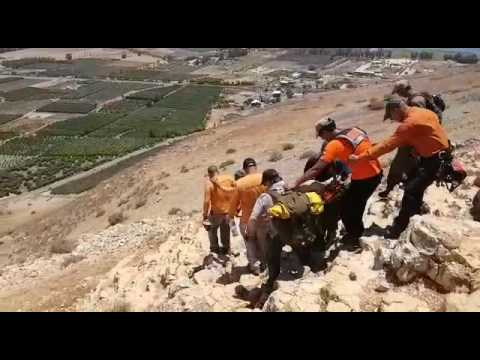 Golan Rescue rescue 23 y/o American (Via Media Resource Group)