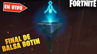 NOW EVENT! The RUNA ARRIVES BALSA BOTIN DO YOU DESTROY IT? FORTNITE